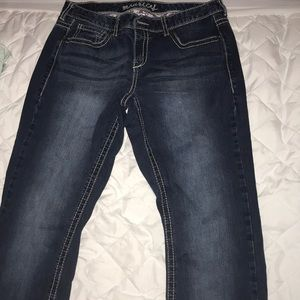 Maurice's Dark Blue Denim Bootcut Jeans
